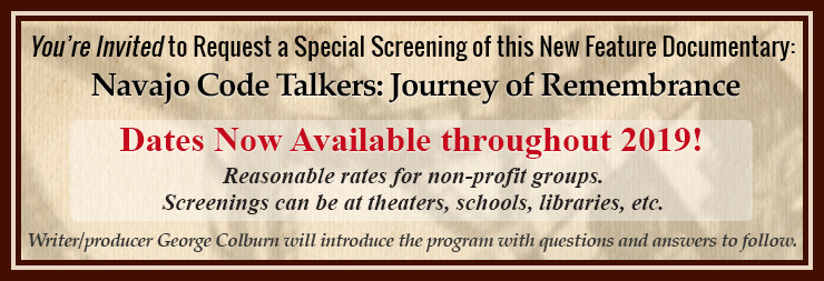 Navajo Code Talkers screenings available